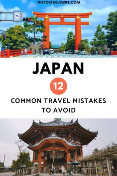 Planning a trip to Japan? Before you go, make sure you're prepared to avoid these 12 common Japan travel mistakes. #japan #traveltips