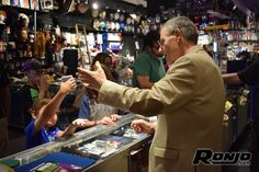 Do you believe in magic? We do! Stop in for one of Ronjo's famous magic shows!