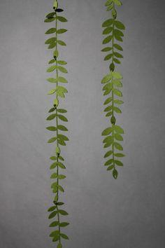 possible diy garland! Felted Foliage Garland in SHOP Décor Decorations at BHLDN Felt Crafts, Diy And Crafts, Paper Crafts, Photobooth Ideas, Felt Flowers, Paper Flowers, Craft Projects, Projects To Try, Felt Leaves