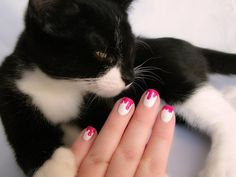Essie Silk Watercolors Bloody Nails Nailart Jazz 2