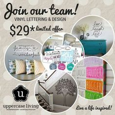 It's a great time to join our Uppercase Living team. Just $29 gets you started. High level training materials help you succeed.