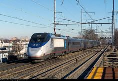 RailPictures.Net Photo: AMTK 2029 Amtrak Bombardier/Alstom Acela Express Trainset at Elizabeth, New Jersey by Christopher Gore