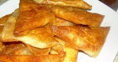 Υλικά για τα φύλλα 1/2 κιλό Αλεύρι , ( θα μας βγάλει περίπου 20-25 τυροπιτάκια) ½ κοφτό κουταλάκι του γλυκού αλάτι, 2 κουταλιές σούπας ξύδι, ½ φλιτζανάκι μικρό του καφέ ελαιόλαδο και ½ ποτήρι νερό απ' τη βρύση . για τη γέμιση 2-3 αυγά και φέτα τυρί 300 γραμμάρια, μαϊντανό ψιλοκομμένο και μαύρο πιπέρι ΕΚΤΕΛΕΣΗ [...] Snack Recipes, Snacks, French Toast, Bacon, Chips, Breakfast, Food, Snack Mix Recipes, Morning Coffee