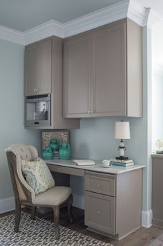desk ideas kitchen with coffee area cabinet bar designs cabinets