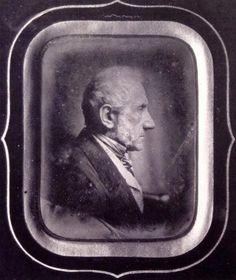 Stefano Stampa, Ritratto di Alessandro Manzoni, dagherrotipo, 1851 ...