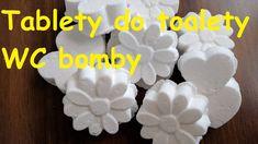 WC bomby - čistící tablety do toalety, voňavé a eko Easy Craft Projects, Homemade, Make It Yourself, Diy, Crafts, Youtube, Gardening, Ideas, Manualidades