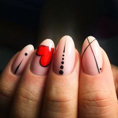 Taking the lead in everything fashion and beauty, nail trends out of Korean never fail to enchant us. This time, their eye-ca Pink Nail Art, Pink Nails, Gel Nails, Shellac Manicure, Stiletto Nails, Nail Polish, Korean Nail Art, Valentine Nail Art, Valentine Nail Designs