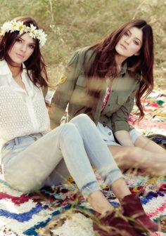 kendall and kylie for pacsun photoshoot
