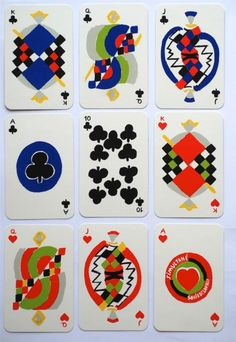 """""""Simultane"""" playing cards by Sonia Delaunay Stage Set Design, Game Design, Design Art, Graphic Design, Sonia Delaunay, Robert Delaunay, Kitty Crowther, Tarot, Art Assignments"""