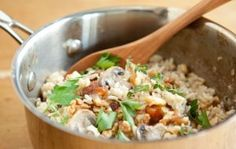 Brown Rice Pilaf with Mushrooms and Apricots | Whole Foods Market