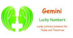 Gemini Lucky Lottery Numbers - Today and Tomorrow