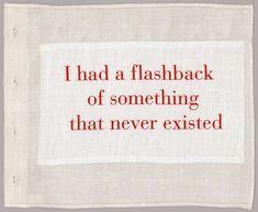 Flashback.                                                                                                                                                                                 More