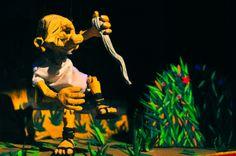 O contista da Grécia antiga Esopo em Contos da Floresta.