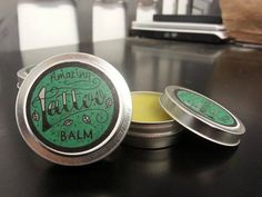 Every good pinup needs to take care of her tattoos! Amazing Tattoo Balm by MyPeaceLoveLifeShop on Etsy, $11.00