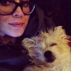 Sleeping morkie pup!