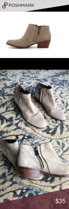 4282e864cca9 Sam Edelman Petty Boots sam edelman petty booties in great conditions some  scuffs on heel as