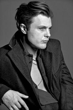 Michael Pitt, photographed byMark Abrahams for V magazine, summer 2014.