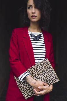 Les sapes Archives - Page 2 sur 215 - Et pourquoi pas Coline ? Look Casual Chic, Style Désinvolte Chic, Mode Style, Preppy Style, Leopard Fashion, Stripes Fashion, Blazer Fashion, Fashion Outfits, Curvy Fashion