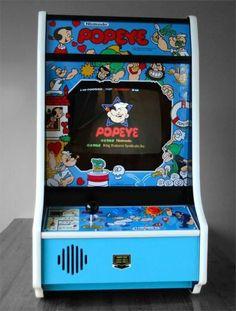 Popeye Arcade Nintendo Crt Bartop