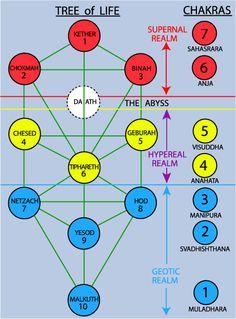 Tree of Life and Chakras