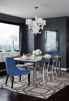 Gorgeous Apartment for a Woman in the USA, design, décor, interior, usa, apartment, dining room