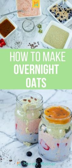 How to make overnight oats that everyone will love! How to make overnight oats, how to make overnight oats in a jar, how to make overnight oats healthy, how to make overnight oats recipes, how to make overnight oats with yogurt. #overnightoats