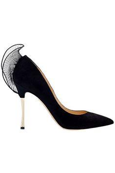 Nicholas Kirkwood -black winter shoes