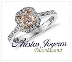 Diseños únicos en anillos de compromiso!