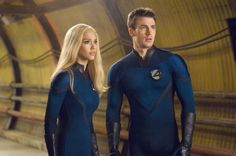 Sue Storm / The Invisible Woman & Johnny Storm / The Human Torch - Jessica Alba & Chris Evans - The Fantastic Four Miles Teller, Jamie Bell, Capitan America Chris Evans, Chris Evans Captain America, Michael B Jordan, Kate Mara, Tim Story, Michael Chiklis, Captain America Star