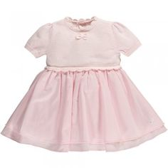 19425c0b1a7f6 Emile et Rose - Baby Girls - Knit Dress with woven skirt   Pants