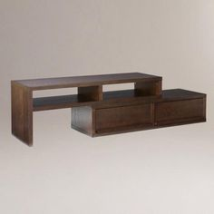 One of my favorite discoveries at WorldMarket.com: Draper TV Stand