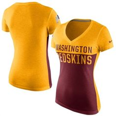 Washington Redskins Black Nike Helmet Tri-Blend T-Shirt ...