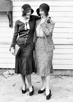 Joan Crawford and Kay Hammond , 1930s.