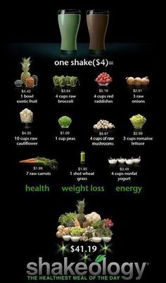 Healthy AND tastes good!!!  And starting Feb 14th, there will be a PINK shake, too....Tropical flavor!