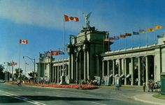 The Princess Gates - CNE  Canadian National Exhibition  Toronto Ontario
