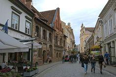 LT_170825 Liettua_0090 Vilnan vanhan kaupungin Pilies gatvė