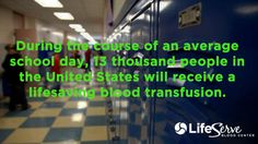 #LifeServer homecoming series. Every 2 seconds, someone in the U.S. needs blood to survive.