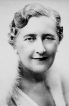 Dame Agatha Christie (1890-1976) prolific mystery writer, her books are still bestsellers.