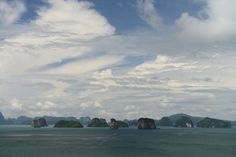 Phang Nga Bay, Thailand Cool Landscapes, I Am Awesome, Thailand, Clouds, Painting, Outdoor, Art, Photography, Outdoors