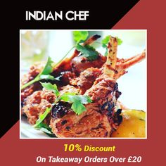 Indian Chef offers delicious Indian Food in Chelmsford , Chelmsford Browse takeaway menu and place your order with ChefOnline. You can pay via cash. Food Items, Indian Food Recipes, A Table, Menu, Delivery, Favorite Recipes, Restaurant, Fresh