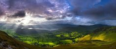 Valley of Light, Newlands Valley, Cumbria