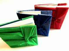 Furoshiki book...I think I could figure out how to wrap a book like this...