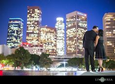 Downtown Los Angeles Engagement | Josh