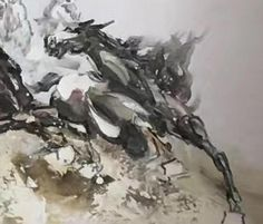 Your place to buy and sell all things handmade Abstract Horse Painting, Horse Paintings, Modern Art Paintings, Large Painting, Acrylic Painting Canvas, Abstract Art, Oversized Canvas Art, Beautiful Horses, Large Wall Art