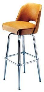 bucket seat cut out bar stools - Google Search