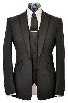 >> Click to Buy << Custom Made Classic One Button Men Slim Fit Suit Groom Tuxedos/Notch Lapel Groomsmen Men Wedding Suits(jacket+pant+vest) #Affiliate