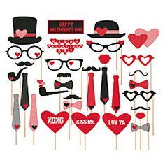 Carton Ceremonia de decorare-27Piesă/Set Ziua Îndrăgostiților / Nuntă / Ziua Recunoștinței
