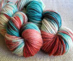 Captain Americana  Hand Dyed Superwash Merino Wool  by GnomeAcres, $16.50