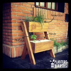 Huerta Doble de madera