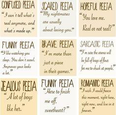 Peeta is sweet